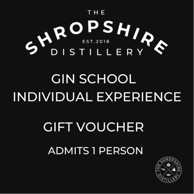 Individual Gin School Experience - Gift Voucher