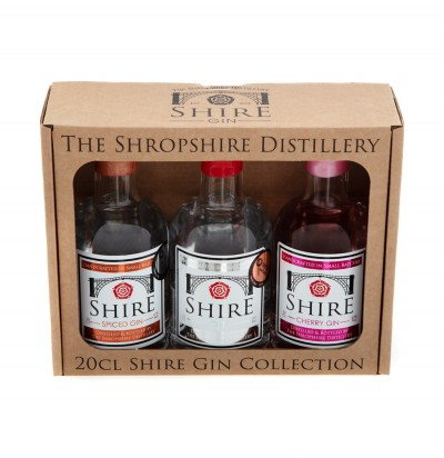 20cl Shire Gin Collection Box